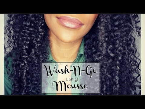 The Perfect Wash & Go?: Using Mousse Instead Of Gel?!