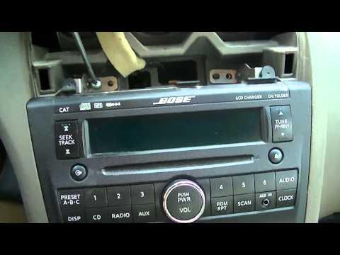 Cómo desmontar el Radio y Control del Aire Acondicionado de un Altima 2008 - 2012