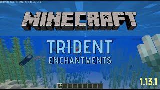 minecraft trident enchantments riptide