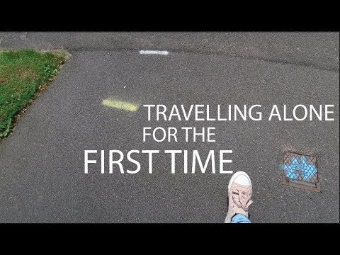 I AM BACK! FIRST TIME TRAVELLING ALONE! TO NOTTINGHAM | TRAVEL VLOG #ITSDEELIFE