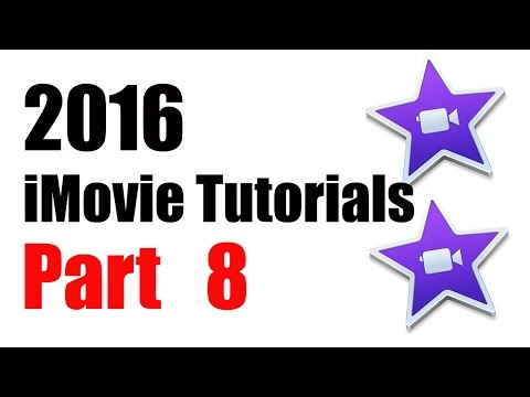 8. How to Use / Add Transitions iMovie 10.1 (2016)