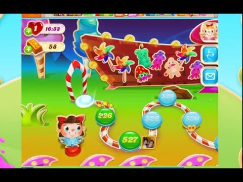 Candy Crush Soda Saga Level 526 & 527 GamePlay Walkthrough Android/iPhone