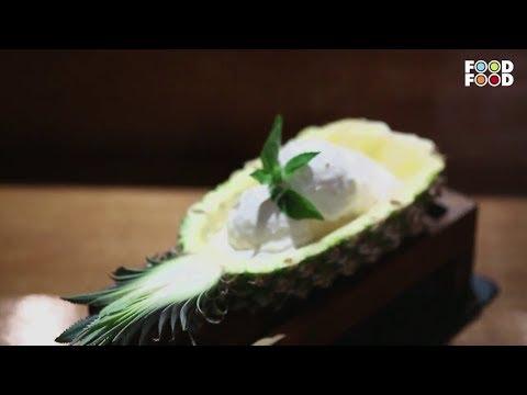 Barbequed Pineapple Ice Cream | Super Foods | Chef Shailendra Kekade | FoodFood