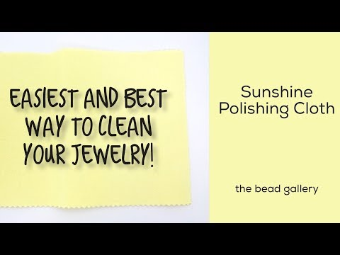 Best Polishing Cloth Ever!  Sunshine at The Bead Gallery