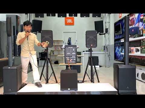 Full Option...! ម៉ាអេមហ្មង JBL EON 208P ជាមួយសាប់ JBL ស៊េរីថ្មី   JBL Cambodia   JBL KTV
