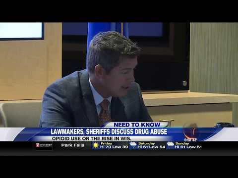 Sean Duffy Hosts Drug Enforcement Roundtable - WSAW