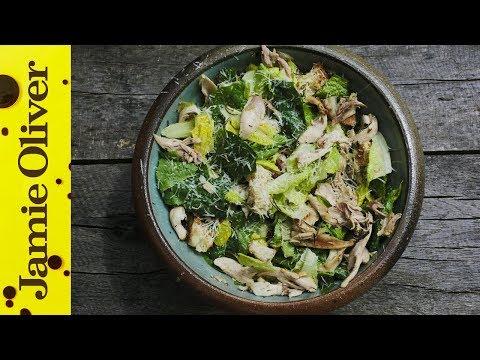 Grilled Chicken Caesar Salad | DJ BBQ