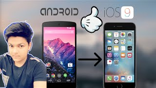 [Hindi] How to Make your Android device look exactly like an iPhone (iOS 9)