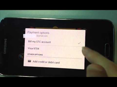 How to topup with STC simcard in Googlewallet