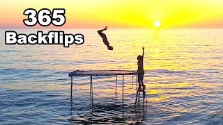 A Backflip Everyday For 365 Days Straight !! (My Biggest Backflips Ever) | JOOGSQUAD PPJT