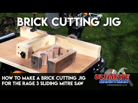 How to make a brick cutting jig for the Rage 3 sliding mitre saw