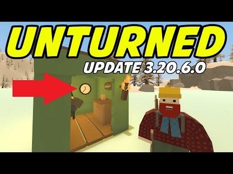 Unturned - NEW UPDATE! Wall Clock, Waypoints, Unturned 4 Coming?!? (Update 3.20.6.0)