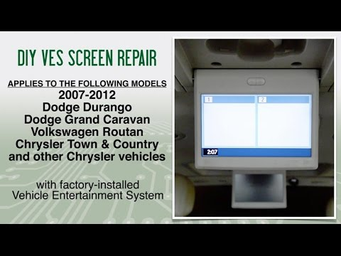 2007-2012 Chrysler Town & Country, Dodge, VW Routan VES Fix