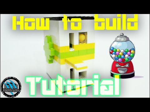 How to build a Mini Lego Gumball Machine | V4 *Coin Rejetion* | Tutorial