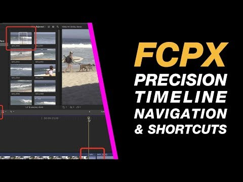 Final Cut Pro X 10.3: Precision Timeline Navigation & Useful Editing Shortcuts