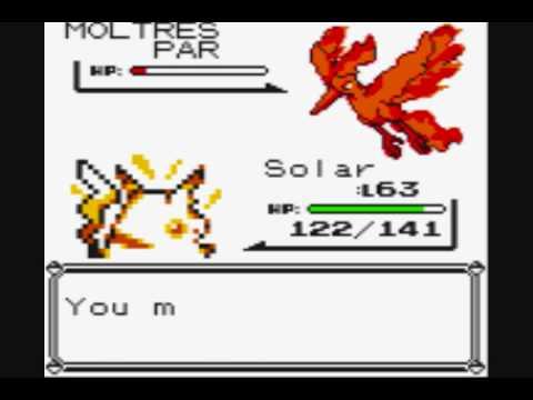 Pokemon Yellow: Catching Moltres