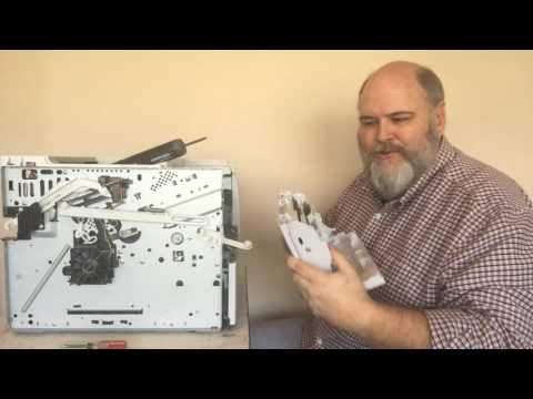 PRINTER REPAIR: HP LaserJet P3015 - Solving The Mystery Of The Manual Feeder's Roller Not Stopping