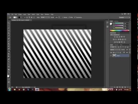 How to create stripes in Photoshop