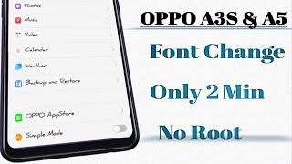 Root Oppo A3s