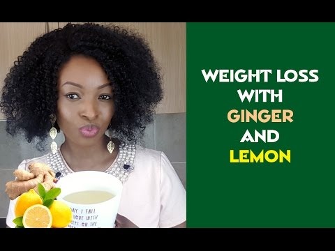 🍋 LOSE WEIGHT FAST WITH GINGER & LEMON WEIGHT LOSS DETOX TEA ☕️