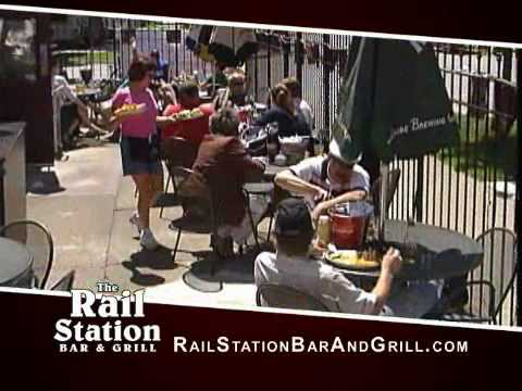 The Rail Station Sports Bar and Grill in Minneapolis Minnesota!