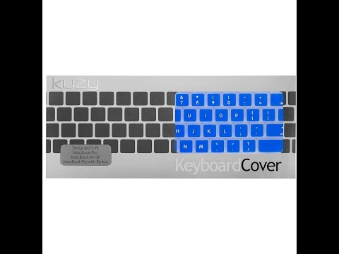 Kuzy keyboard cover for Macbook PRO