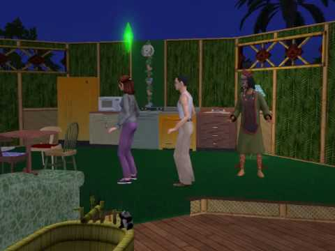 Sims 2:Voodoo doll,part 1