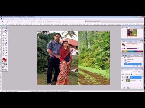 collage mixing image in photoshop 7.0 tutorial