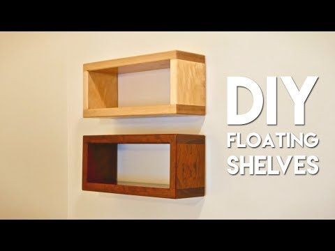 How To Build DIY Floating Shelf with Invisible Hardware