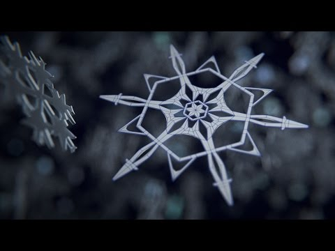 Blender Tutorial I Modelling a Snowflake in 5 Minutes