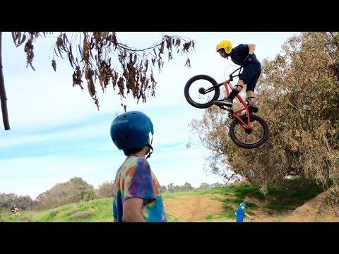 Secret BMX Dirt Jumps