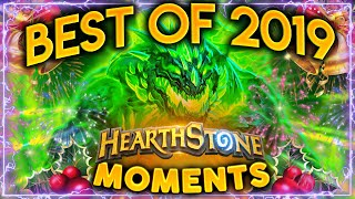 THE BEST MOMENTS OF 2019! | Hearthstone Daily Moments Best Of 2019