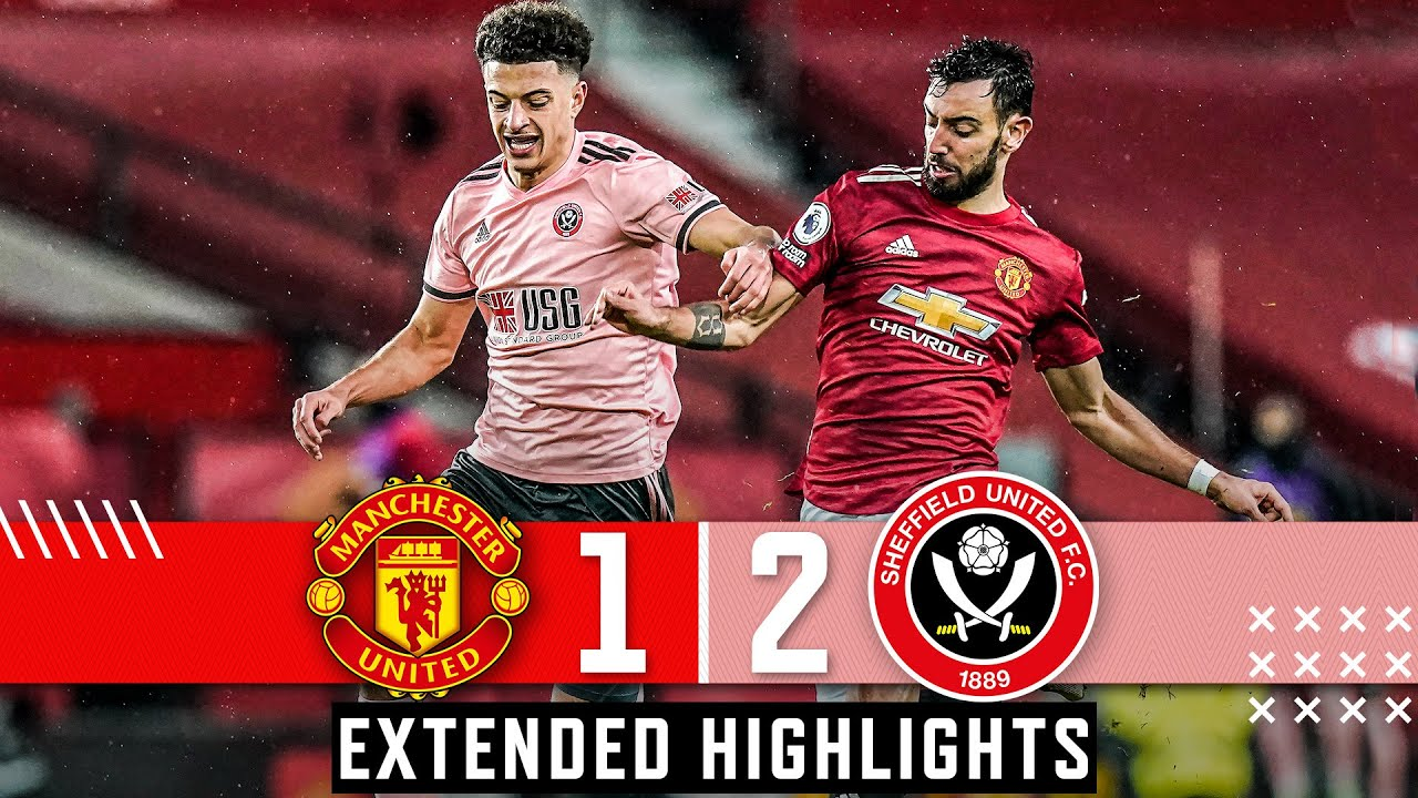 Manchester United 1-2 Sheffield United |  Extended Premier League Highlights Burke & Bryan Goals 🔥