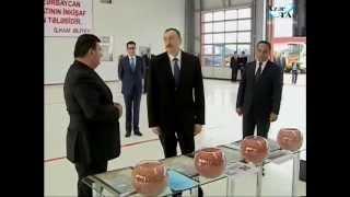 """Prezident İlham Əliyev """"Ağstafa Aqroservis"""" MMC-nin açılışında iştirak etmişdir"""