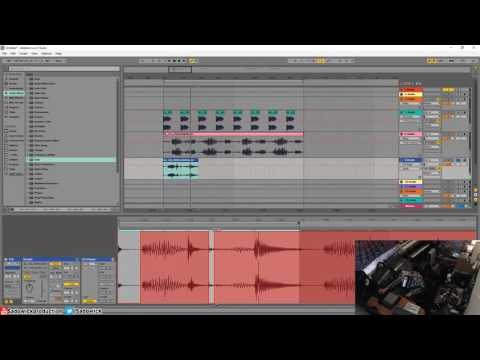 Ableton Live 9 - Percussive Techno Groove And Atmospherics