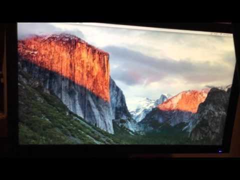 Apple Macbook Air (2015) to HDMI Samsung Monitor