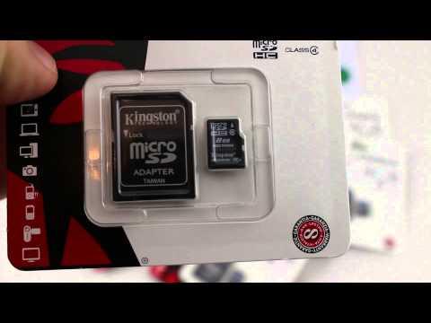 Kingston 8 GB microSDHC Class 4 Flash Memory Card SDC4/8GB