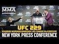 Khabib Nurmagomedov Vs Conor McGregor UFC 229 Press Conference MMA Fighting