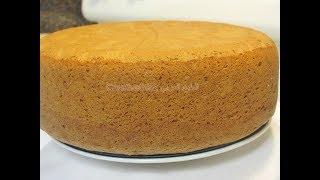 كيك - طريقة عمل الكيكة الاسفنجية  بطريقة ناجحة لكيكات أعياد الميلاد