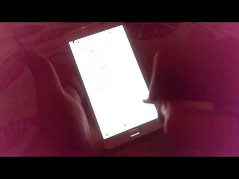 Samsung Galaxy Note 4 - Taking notes with S-Pen
