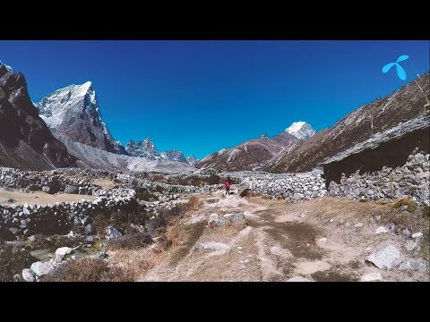 Everest basecamp trek with Wasfia