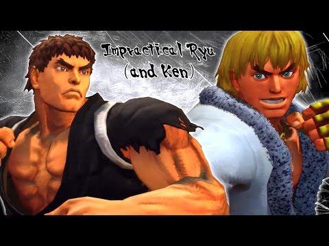 Impractical Ryu (and Ken) - USFIV Combo Video