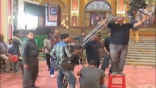 নবাব সাকিব খানের নতুন মুভির শুটিং - Nawab part of Shakib Khan New movie Shooting SD, 854x