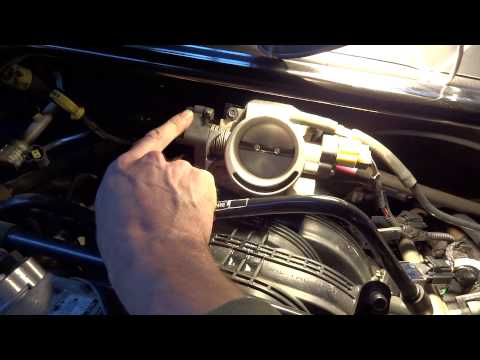 Cleaning the IAC valve on a 2005 Jeep Grand Cherokee 3.7L