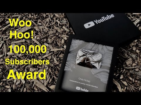Silver Play Button ● Holy Crap I Made it to 100,000 Subscriber !