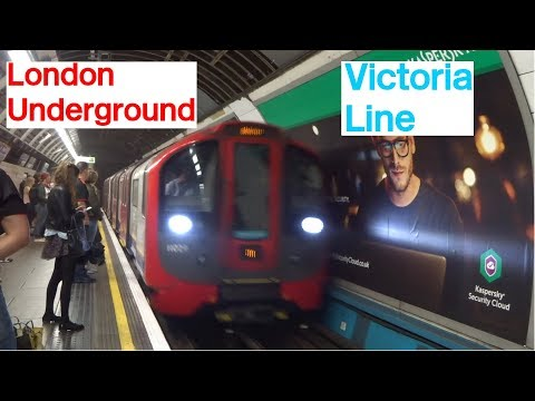 London Underground Victoria Line Euston and Victoria