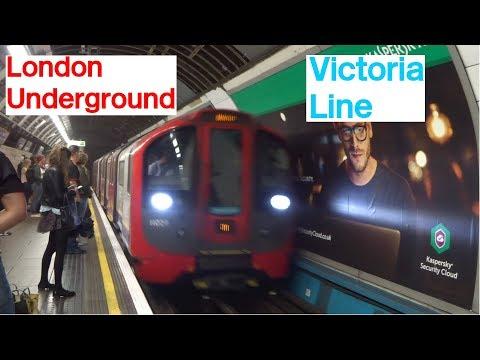 London Underground Victoria Line Euston and Victoria
