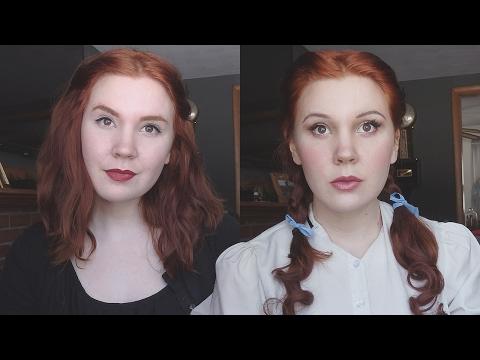 Wizard of Oz || Dorothy Makeup Transformation!