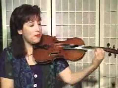 Violin Lesson - How To Play Danman's Print Library # 76 Half and Quarter Notes on a String