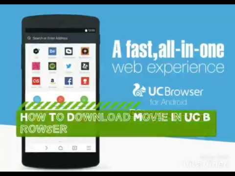 How to download movie in UC Browser fast